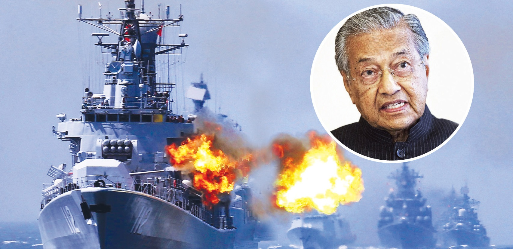 China militarizing the South China Sea may trigger a war, warns Prime Minister of Malaysia Mahathir Mohamad
