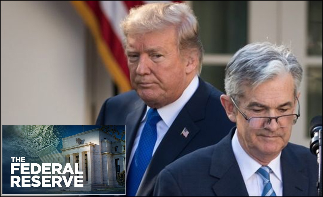 US President Trump rebukes the Federal Reserve, calls it the biggest threat to the US economy