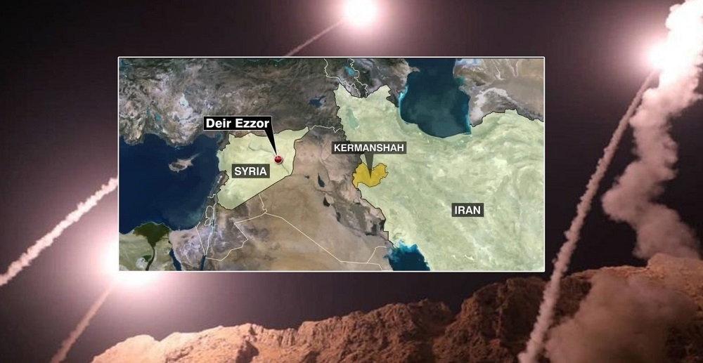 Iran fires missiles to target terrorists in Syria over Ahvaz attack