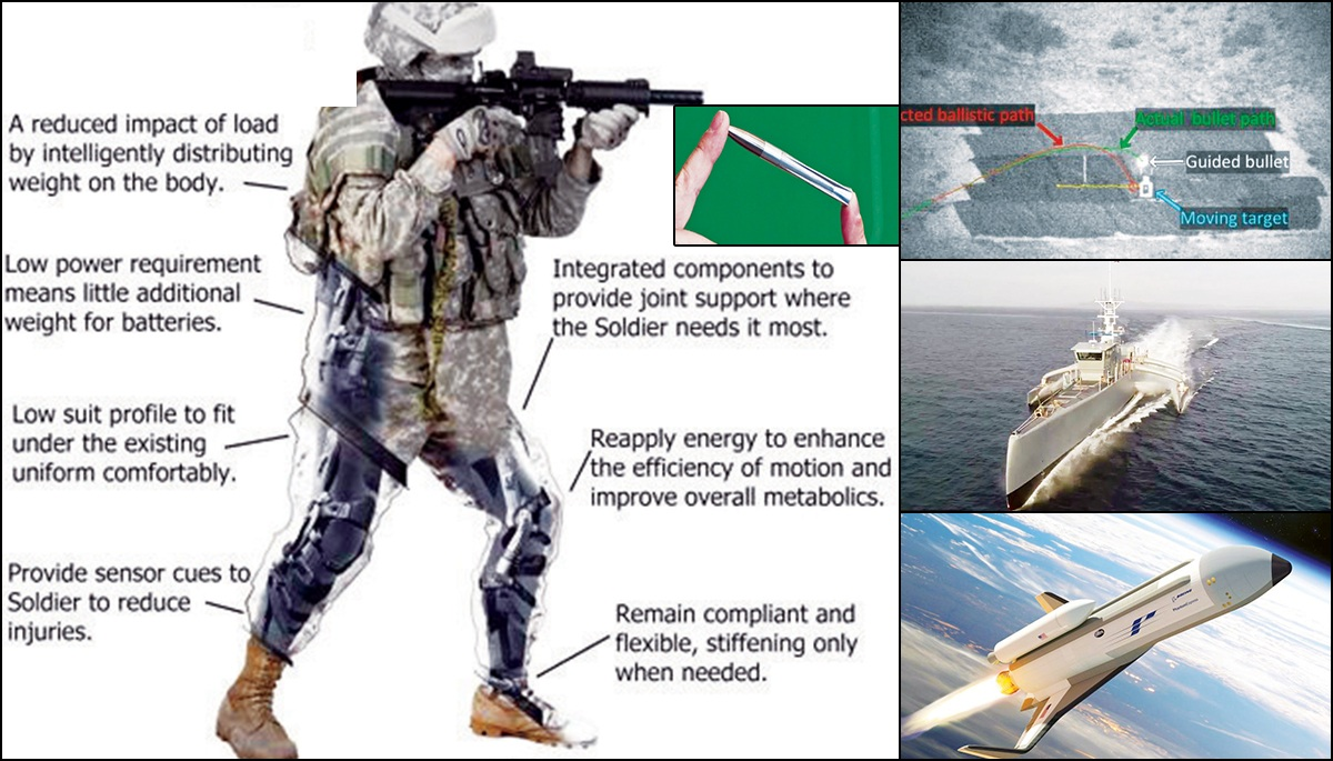 Guided bullets, exoskeleton, killer insects, space war planes: US military to have DARPA's sci-fi weapons