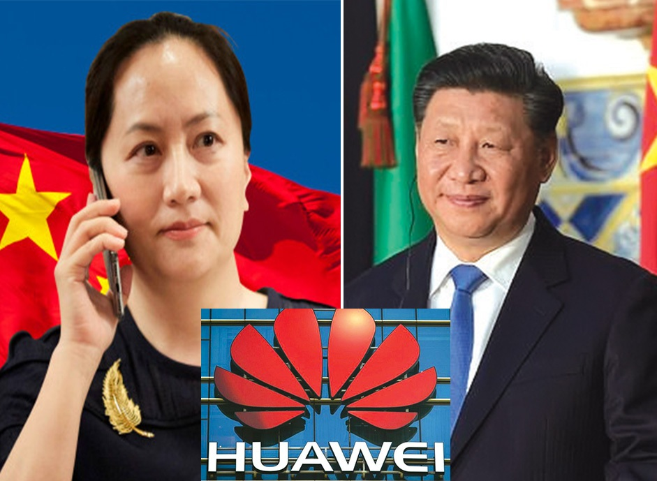 Huawei CFO, Arrest, Meng Wanzhou, telecommunications company, dominate the world, ww3, China, US, 5G network
