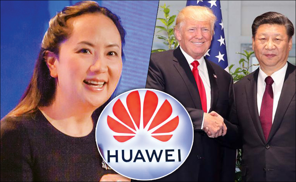 Chinese telecom giant Huawei's CFO held in Canada for violation of US sanctions on Iran; China annoyed