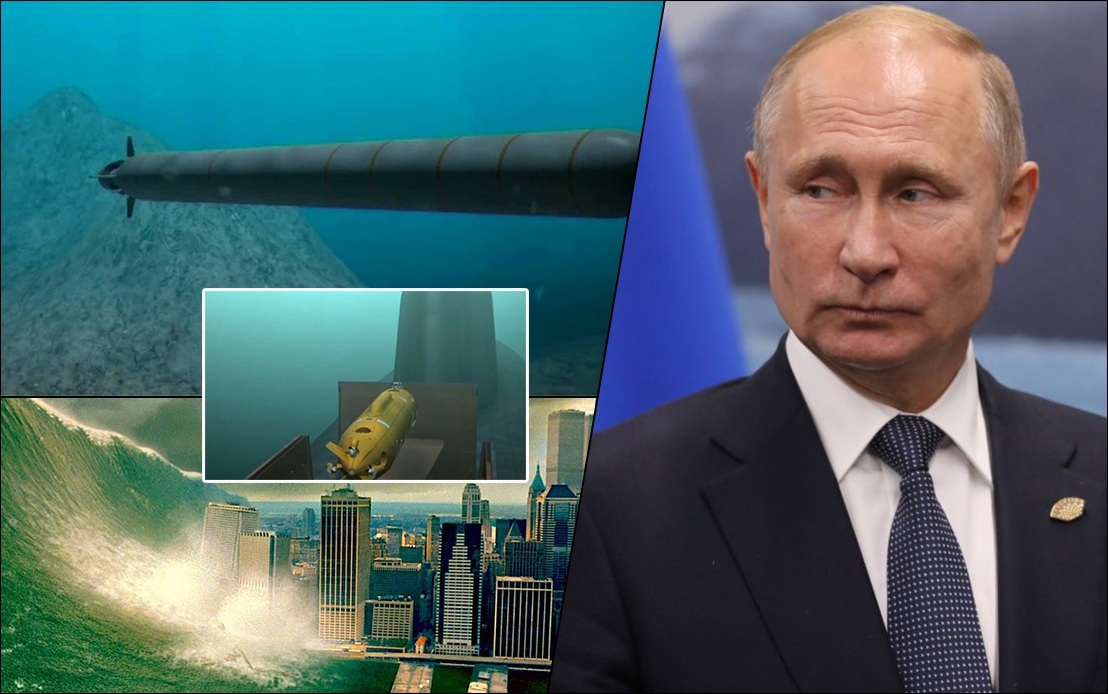 Russia tests underwater nuclear-capable drone 'Poseidon', powerful enough to produce tsunami