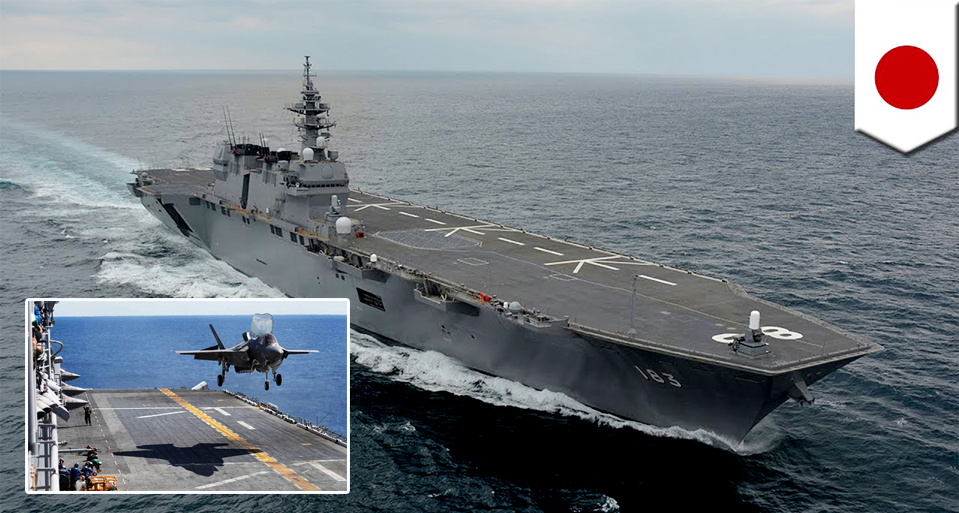 Japan approves record $242 billion defence plan. Aircraft carriers, stealth fighters, radars sanctioned