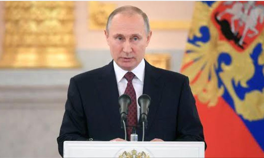 सीरिया पर नए हमले से अंतरर्राष्ट्रीय अराजकता निर्माण होगी : रशिया के राष्ट्राध्यक्ष व्लादिमिर पुतिन
