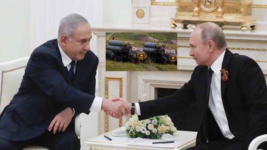इस्रायली पंतप्रधानांच्या दौर्या नंतर रशियाने सिरियाला 'एस-३००' पुरविण्याचा निर्णय रोखला