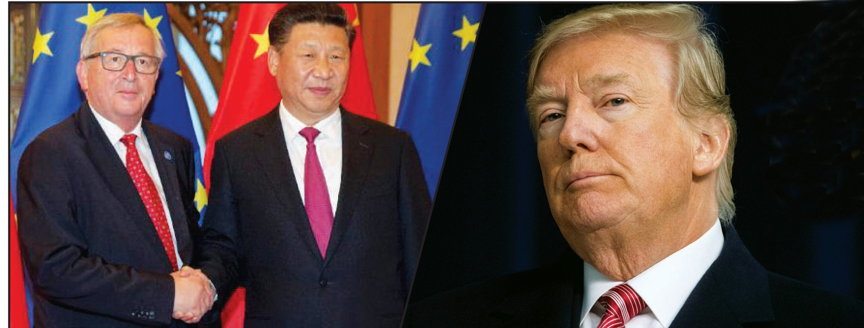 China and Europe together should teach Trump a lesson