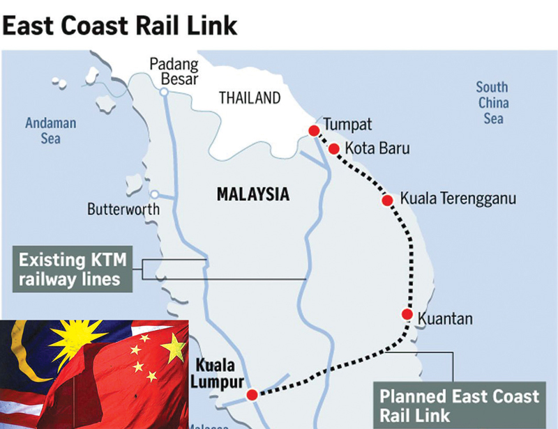 New Malaysian govt jolts China with decision to rethink about ambitious Chinese projects