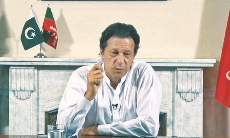 Imran Khan's 'Naya Pakistan' will not give up anti-India policy, mentions Kashmir in his first address after victory