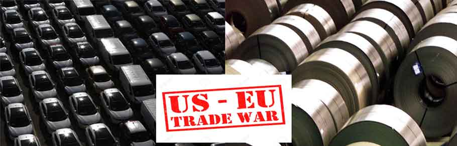 US Europe, trade war, Le Maire, US economy, President Trump, imposed tax, WW3, Paris, China