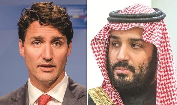 मानवाधिकाराच्या मुद्यावरून सौदी व कॅनडामध्ये राजनैतिक युद्ध पेटले