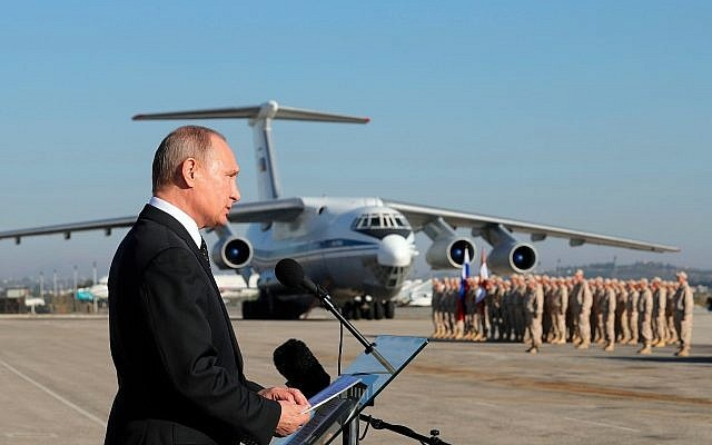 Russia's air strikes have killed 86,000 terrorists in Syria, claims Russian Defence Ministry
