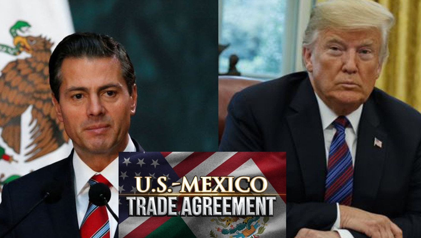 US-Mexico sign new bilateral trade deal. Cancel NAFTA & keep Canada out