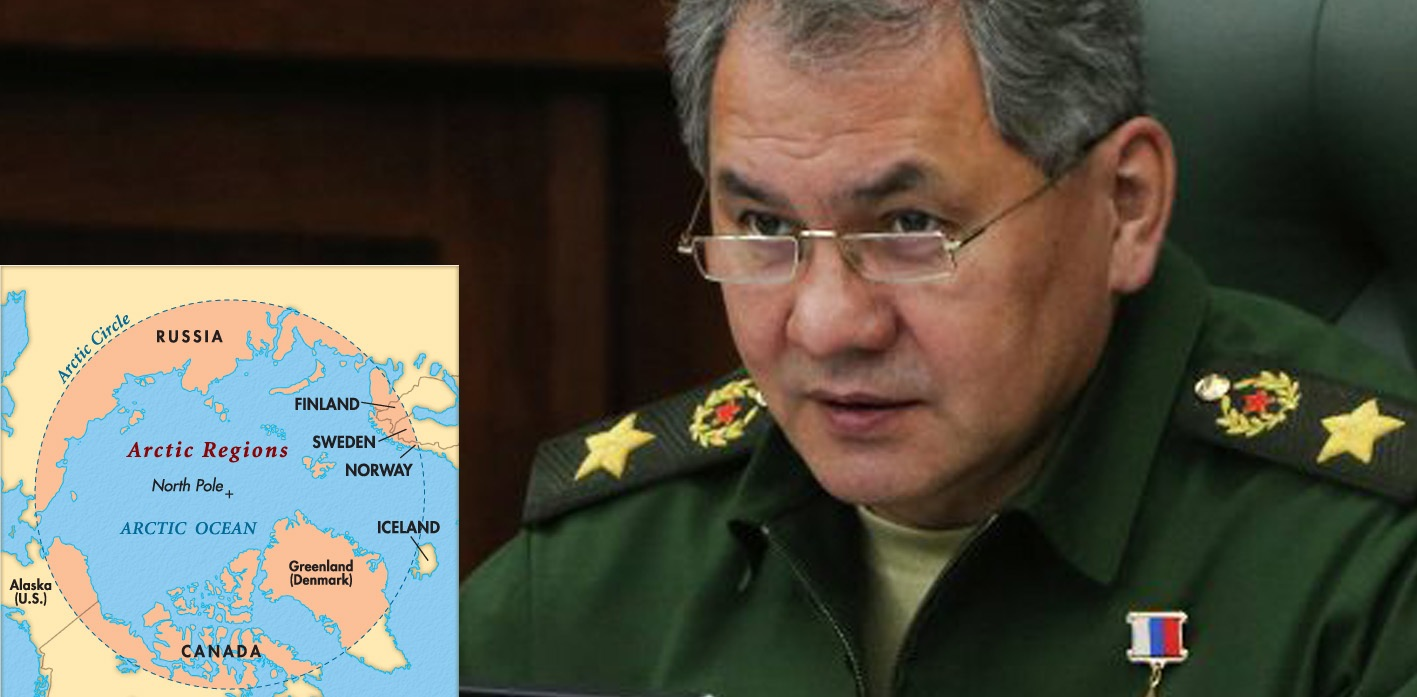 Arctic, military conflict, Sergei Shoigu, Defence Minister, deployment, WW3, Russia, US, China