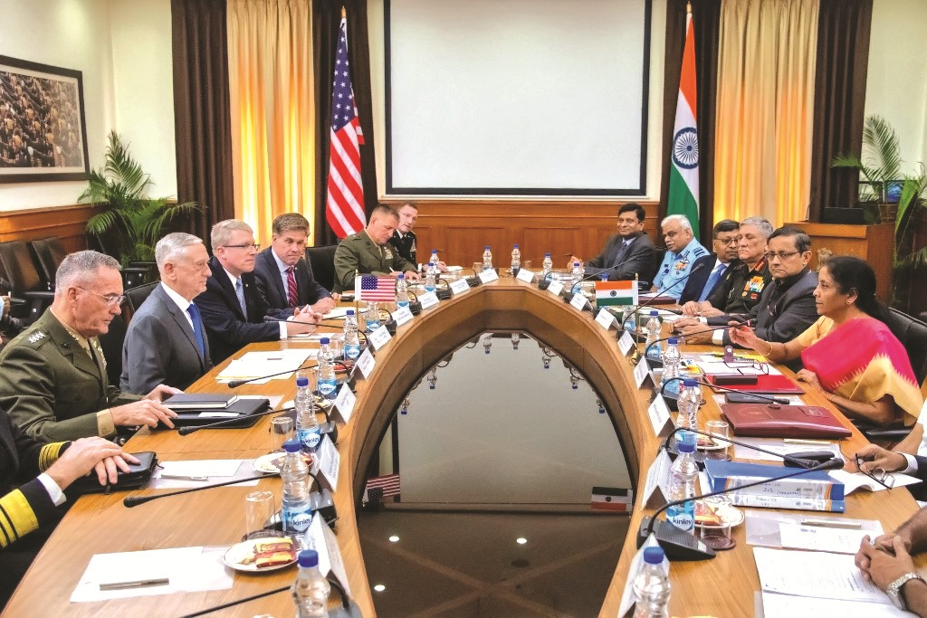 Impact of the India-US 'Two-Plus-Two Dialogue' begins to show