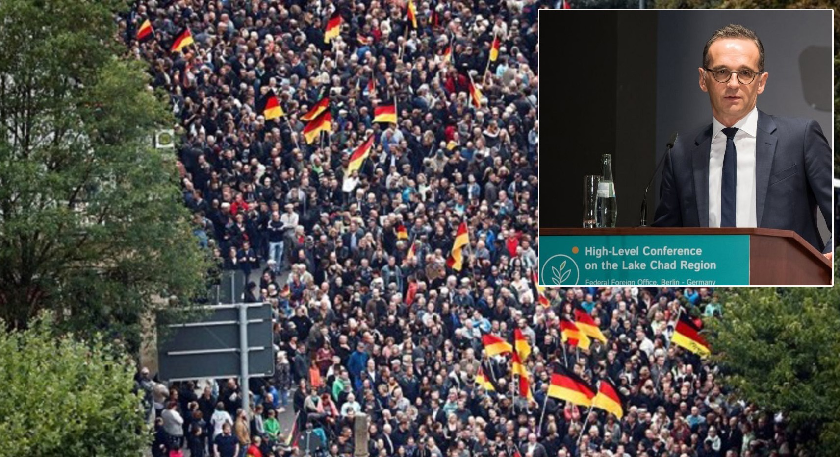 Riots in Germany: Chemnitz declares emergency after liberals clash with right-wing rallies protesting fatal stabbing of local by migrants