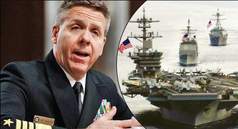 Only way to stop China in the South China Sea is by war, threatens  Admiral Davidson, Commander, US Indo-Pacific Command