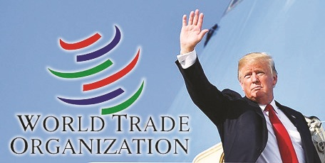 US President Trump threatens to withdraw from the World Trade Organisation