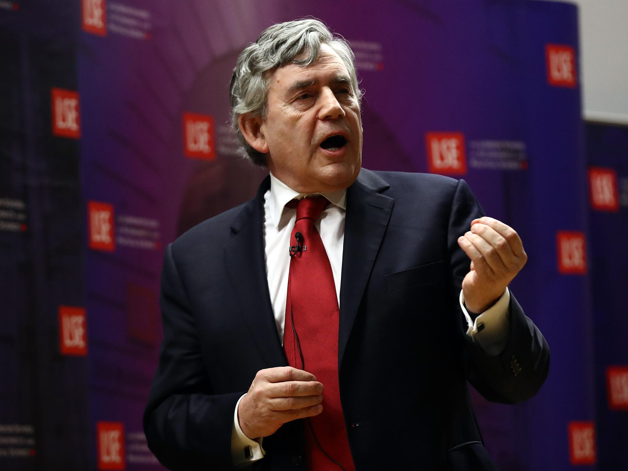 The world is sleepwalking into a new financial crisis, warns UK's former PM Gordon Brown
