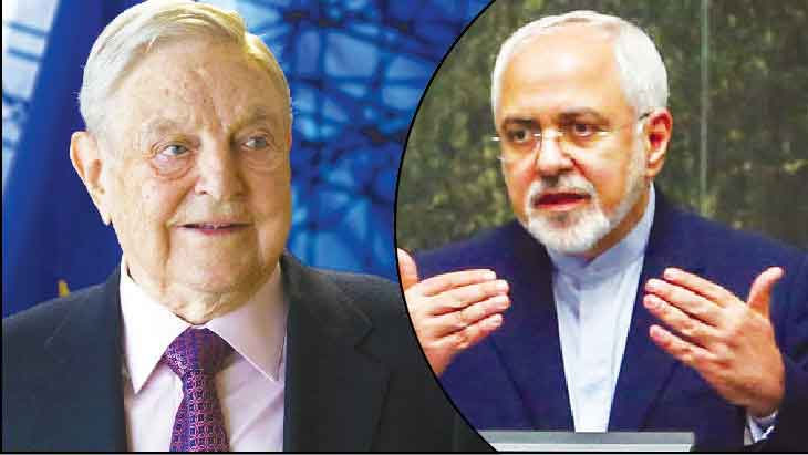 Iran's Regime working closely with George Soros, admits Iranian Foreign Minister