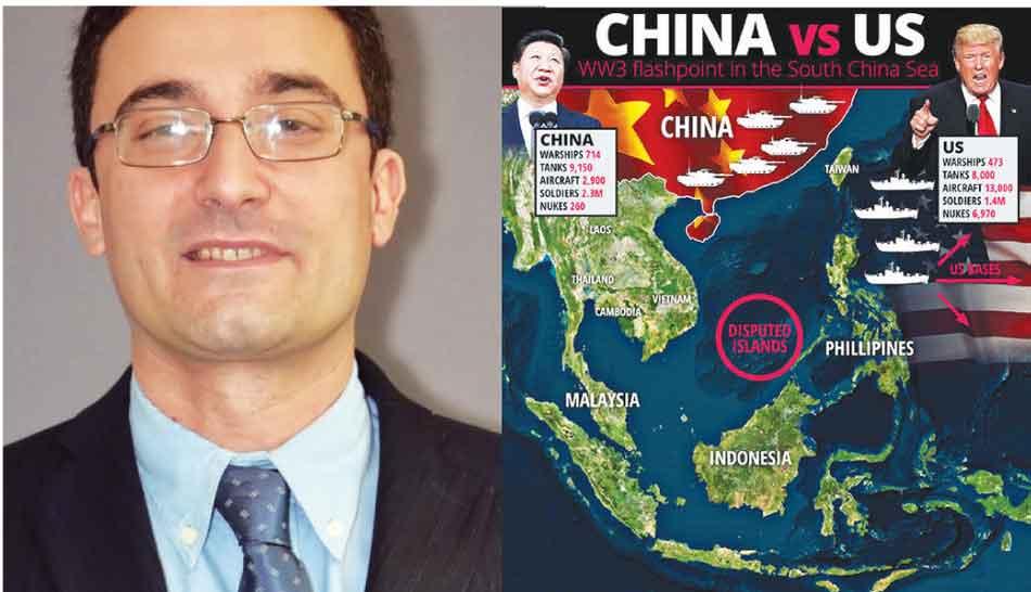 अमरिका-चीन, व्यापार युद्ध, प्राध्यापक फ्रांसेस्को मॉस्कोन, साउथ चाइना सी, व्यापार, wolrd war 3, लंडन, जैक मा