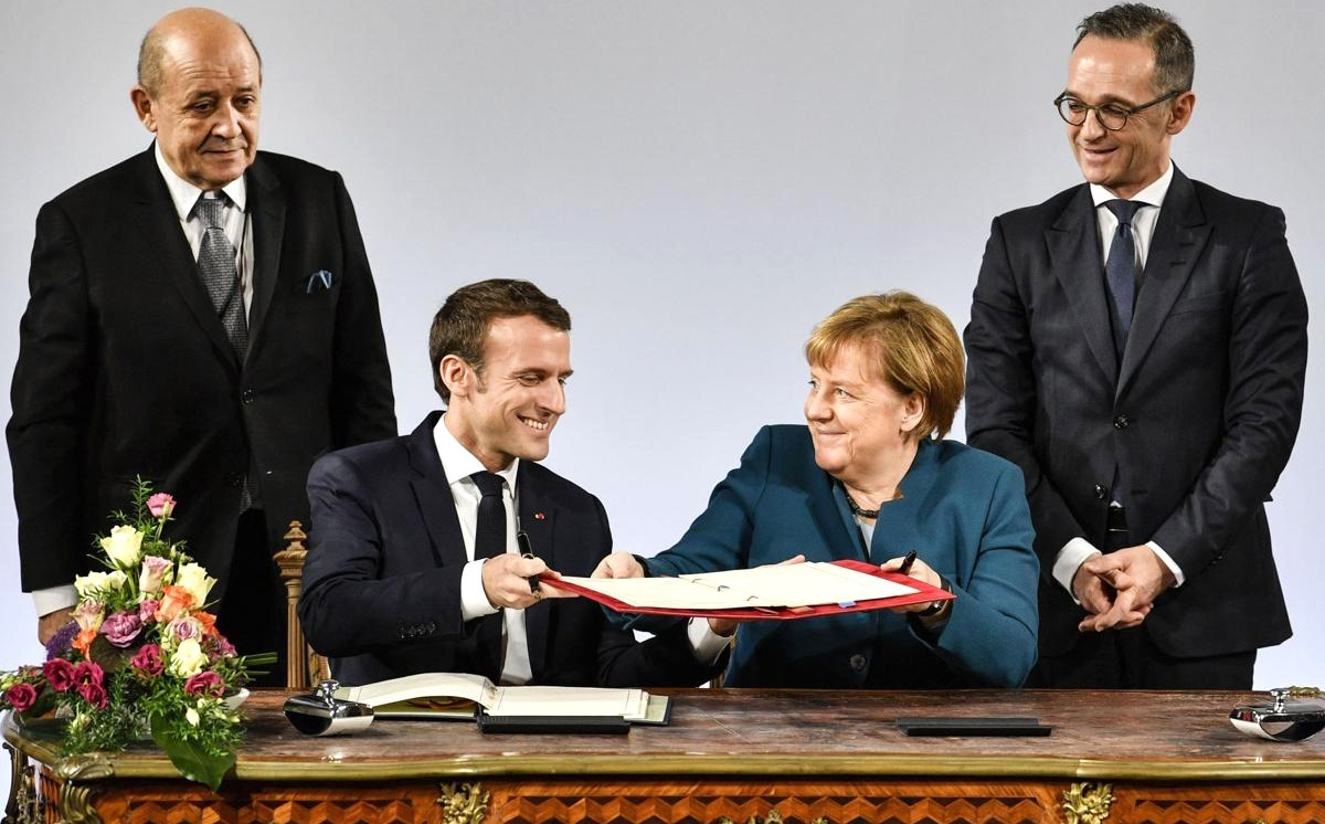 France and Germany revive historic Elysee Treaty after 56 years