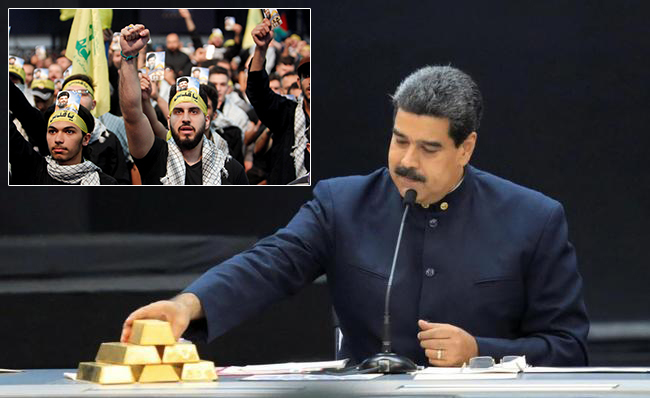 Hezbollah, short of funds due to US sanctions, mining gold in Venezuela at behest of President Maduro
