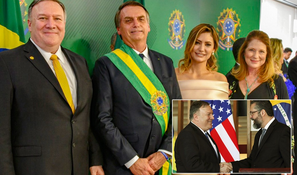 US-Brazil unite to reinstate democracy in Latin America, with US Secretary of State Pompeo's visit