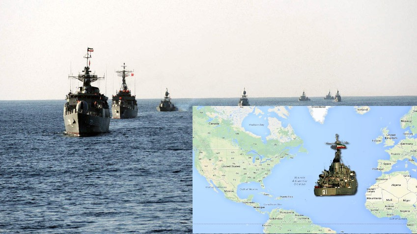 Iran set to deploy destroyers near US, in the Atlantic, amid soaring tensions between the two nations