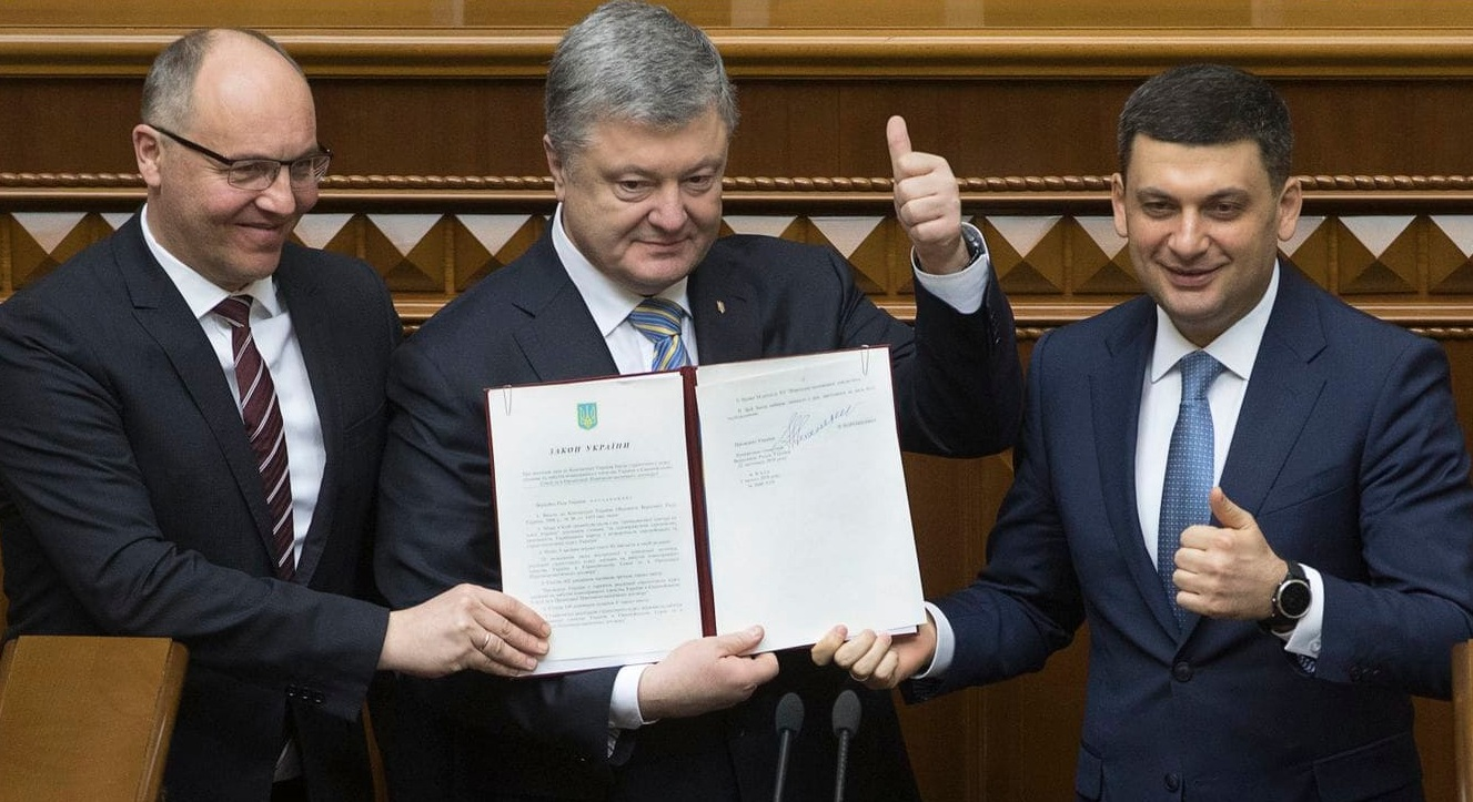 In an attempt to retaliate against Russia, Ukraine amends constitution for membership of NATO and EU