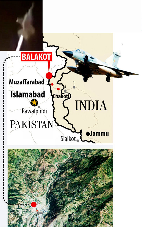 Avenging Pulwama terror attack, India strikes back: Indian Air Force's crushing attacks destroy Jaish bases inside Pakistan killing about 350 terrorists