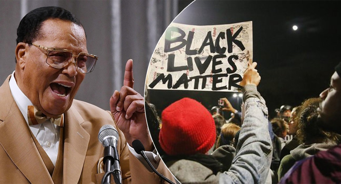 'Nation of Islam' leader Louis Farrakhan demands a separate state from the US for Black Americans