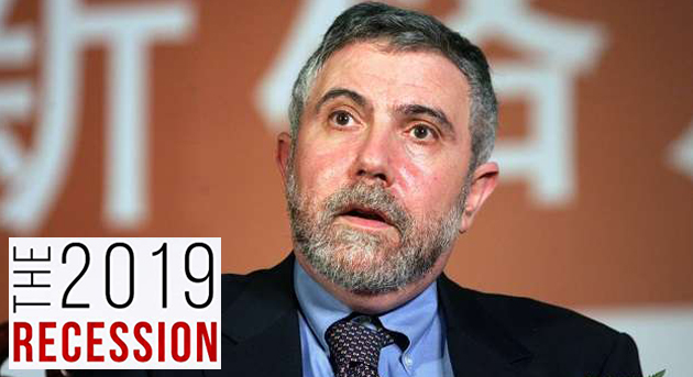 Nobel Laureate, economist Paul Krugman warns of a hard-hitting global recession this year
