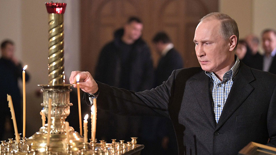 Putin accuses Ukraine of interference in faith over Schism in Orthodox Church; warns Russia could act to protect religious freedom