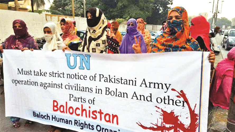 'Baloch Republic Army' attacks Pak Army; destroys 3 Pak posts with chants of 'Azad Balochistan Zindabad!'