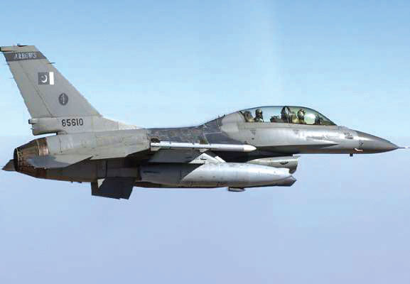 Pakistani ready to strike India with F-16s along with attack drones deployed at the border