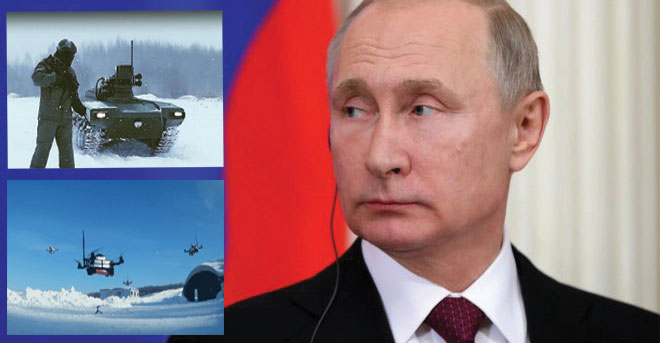 Russia armed with AI-based 'Killer Robot Army' and swarms of bomber drones