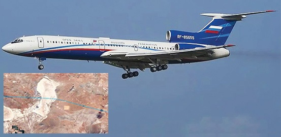 Russian aircraft flies over US 'Area 51', nuclear test sites, air bases as part of Open Skies Treaty