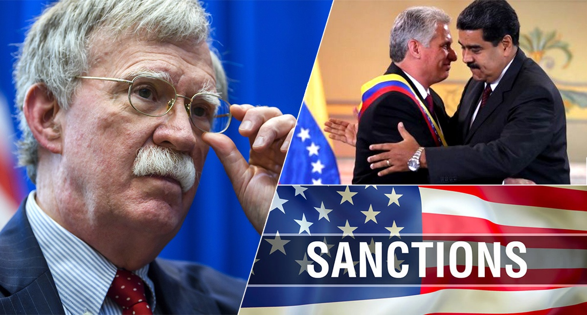 Cuba, cooperation with Maduro regime, John Bolton, sanctions, legal actions, wprld war 3, US, Venezuela, Russia