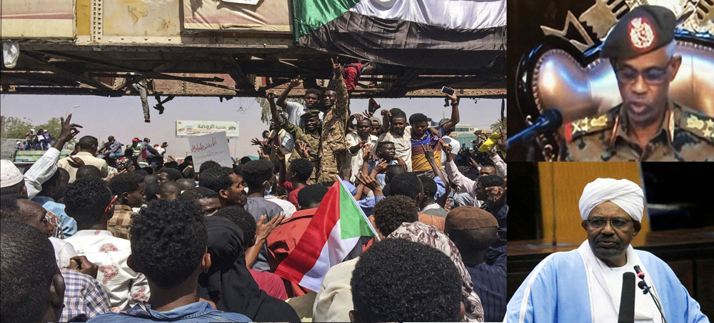Sudan President Bashir overthrown in military coup; military declares state of emergency for three months