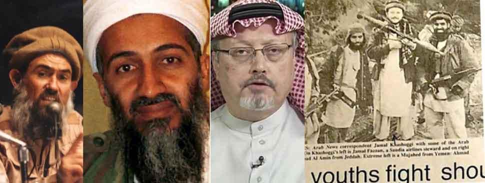 सऊदी अरेबिया द्वारा हत्या करवाये गये पत्रकार खगोशी का ब्रदरहुड एवं लादेन से संबंध था अमरिका के सत्ताधारी पक्ष के सदस्यों का दावा