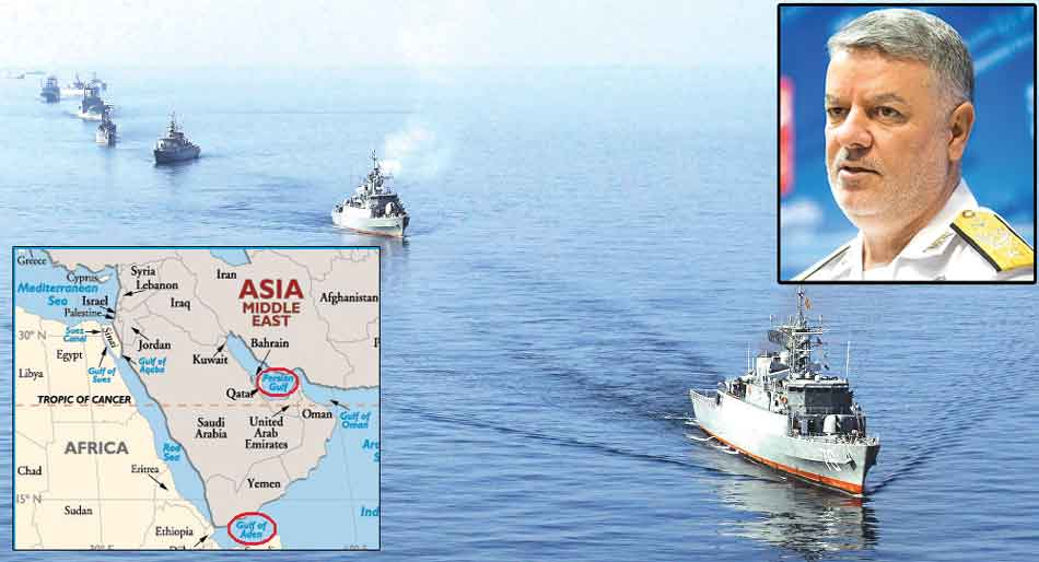 Gulf of Aden, deploy fleets, Gulf of Aden, Hassan Rouhani, Navy, Indian Ocean, safeguarding the marine limits, Iran, Persian Gulf