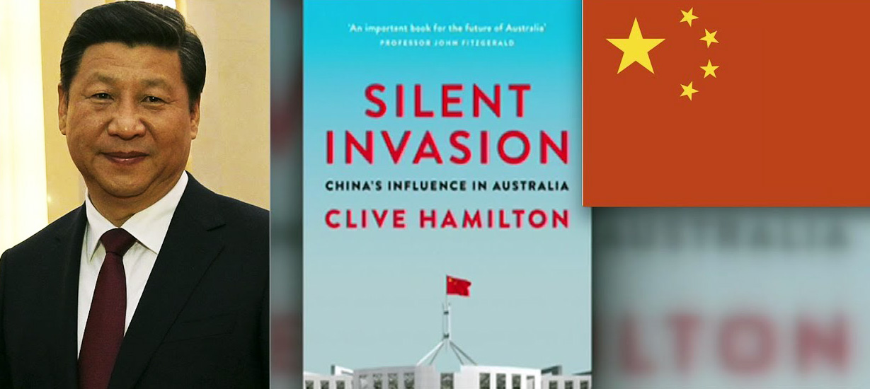 China waging 'psychological warfare' against Australia, warns author Prof. Hamilton