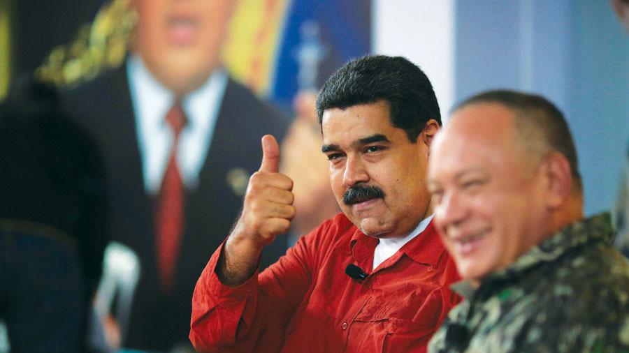 निवडणुकीच्या आधी अमेरिकेचे व्हेनेझुएलाच्या नेत्यांवर निर्बंध