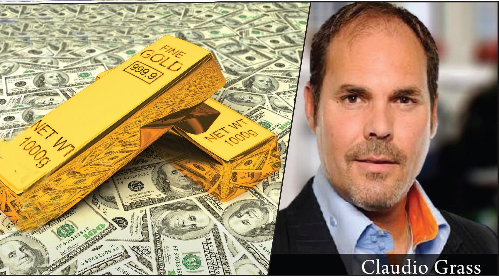 If US dollar crashes in the currency war, investment in gold will be the only saviour, claims renowned expert Claudio Grass