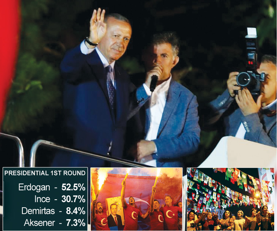 President Erdogan wins Turkey elections