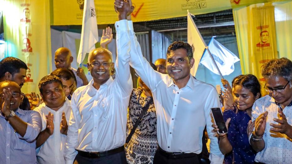 चीनधार्जिणे राष्ट्राध्यक्ष अब्दुल्ला यांचा पराभव करून मालदीवच्या निवडणुकीत लोकशाहीवादी शक्तींचा विजय