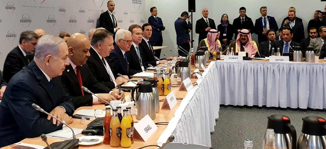 Arab nations back Israel on rising Iran threat at Poland Summit