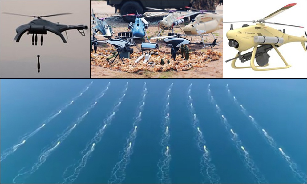 Global Times claims China armed with swarms of AI helicopter-drones, capable of gun-fire, mortar, grenade attacks