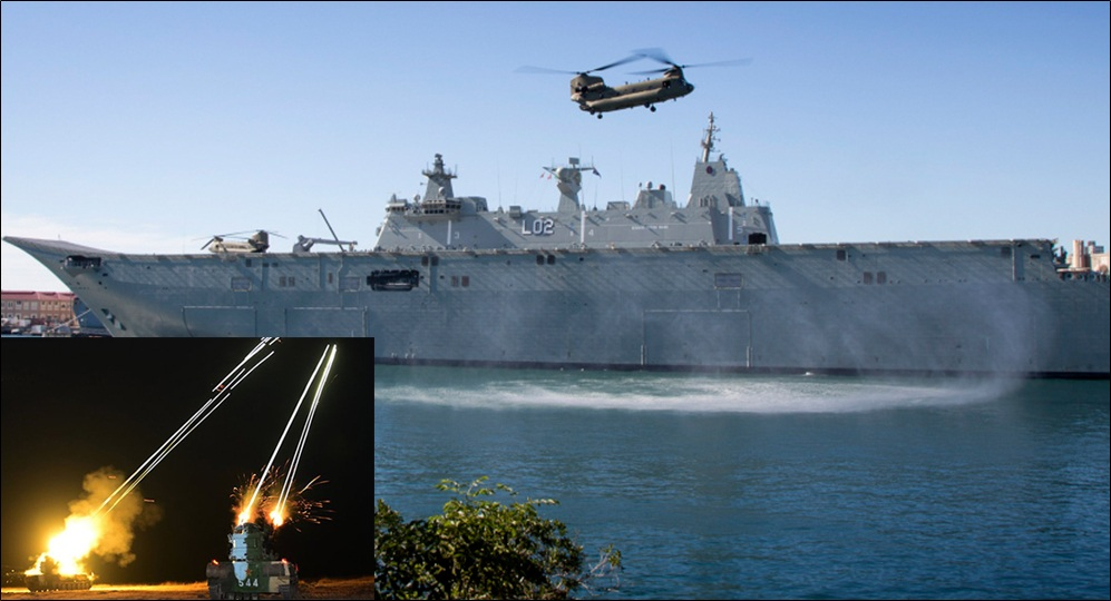 China attacks Australian Navy helicopter with lasers in the South China Sea